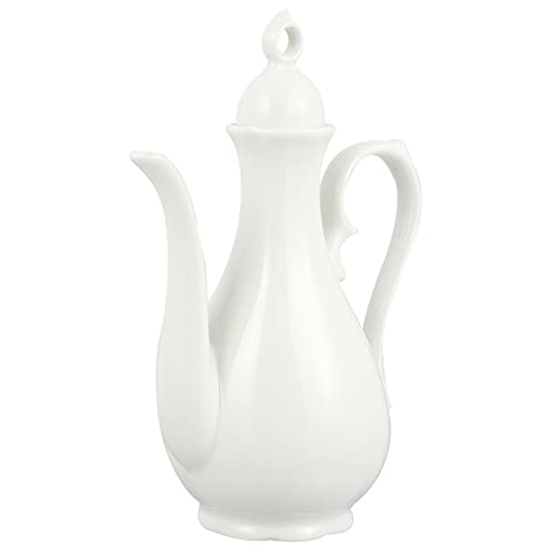 Cabilock Keramik Schwanenhals Wasserkocher Chinesischen Willen Topf Sake Flasche Tee Wasserkocher Wasser Karaffe für EIS Saft Getränke Tee 300