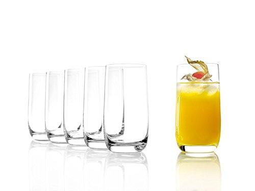 STÖLZLE LAUSITZ Gläser WEINLAND 315 ml I Trinkgläser 6er Set I Gläser-Set spülmaschinenfest I hohe Bruchresistenz I Universalgläser als Wassergläser Saftgläser Schorlegläser Longdrinkglä