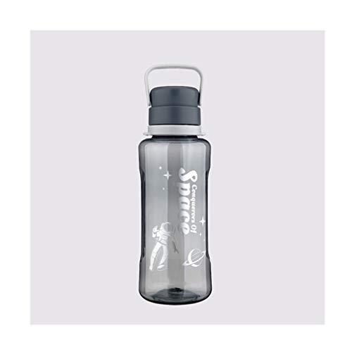 hkwshop Karaffe Krug Super große Kapazität Kunststoff Sport-Wasser-Flaschen, Durable Tea Cup-Sealed Deckel, Fast Flow, Leakproof Tragbarer Sommer 50,7 Unzen Wasserkrug/Wasserkaraffe (Color : Gray)
