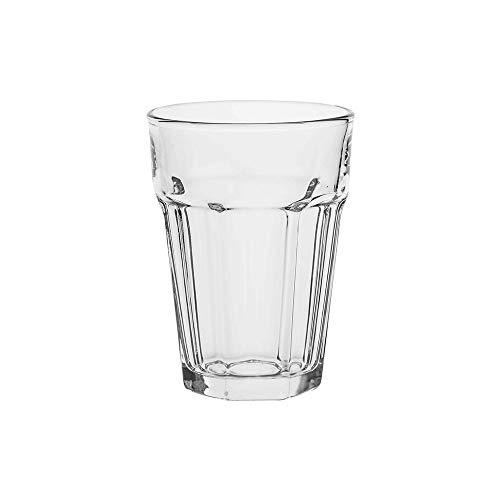 AmazonCommercial Allzweck-Trinkglas, 372,6ml, 12-