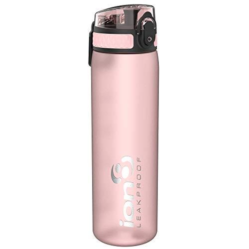 Ion8 Auslaufsichere Schlanke Trinkflasche, BPA-frei, R