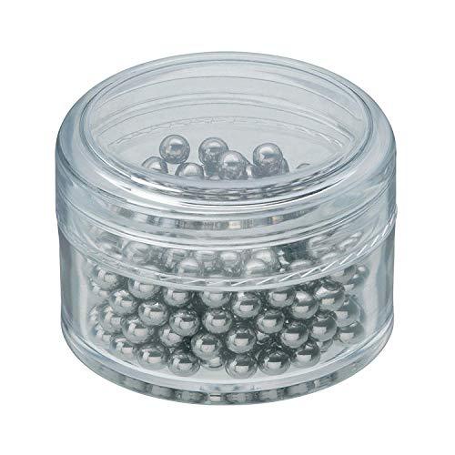 WMF Basic Reinigungsperlen Cromargan Edelstahl, zur Reinigungen für Karaffen, Dekanter, Vasen oder Flaschen, löst Verunreinigu