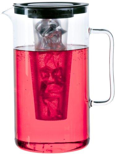 Bohemia Cristal 093 006 057 SIMAX Krug ca. 2,5 ltr. aus hitzebeständigem Borosilikatglas mit Eiswürfeleinsatz aus Kunststoff und Kunststoffdeckel sch