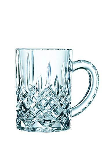 Spiegelau & Nachtmann, Bierkrug mit Schliffdekoration, Kristallglas, 600 ml, 0095635-0 Nob