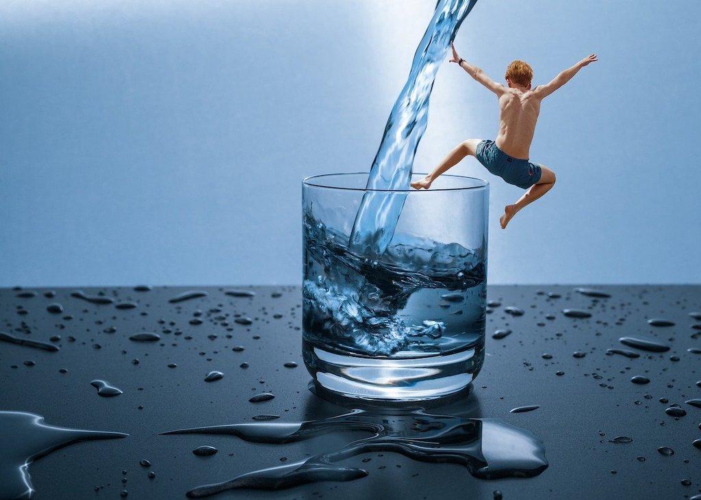 Wieviel Wasser braucht man täglich?